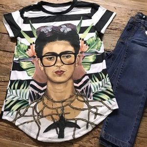 Frida Kahlo Shirt S, M, L and XL